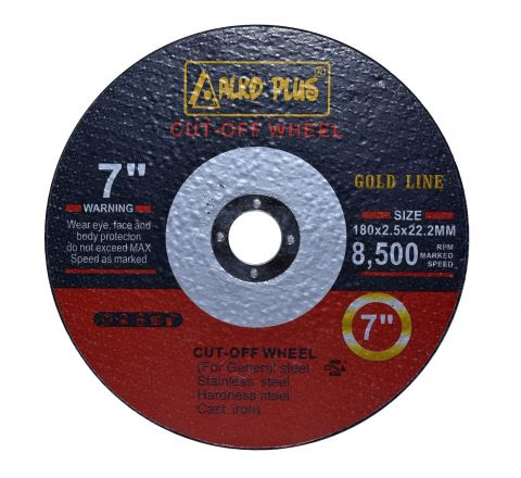 Alko Plus 7 inch Double Net Cut Off Wheel, 180 X 2.5 X 31.75 mm ( abr_cut_cow_011 )