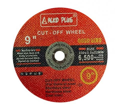 Alko Plus 9 inch Double Net Cut Off Wheel, 230 X 3 X 22 mm ( abr_cut_cow_012 )