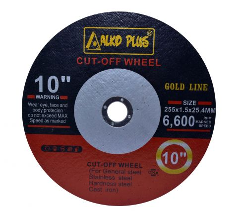 Alko Plus 10 inch Double Net Cut Off Wheel, 255 X 1.5 X 25.4 mm ( abr_cut_csw_002 )