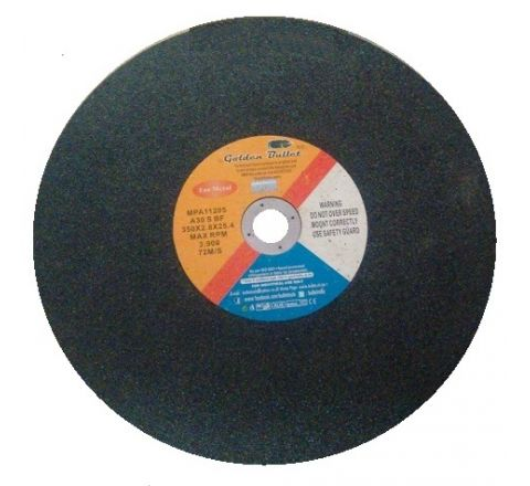 Bullet 14 Inch Chop Saw Wheel 350 x 2.8 x 25.4 mm, A30 S BF ( abr_cut_csw_015 )