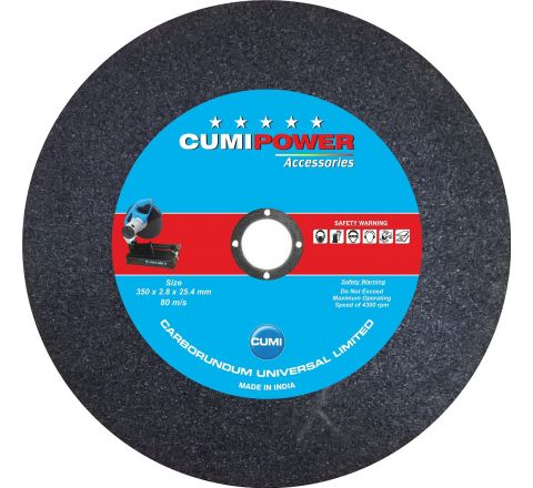 CUMI POWER 14 Inch Chopsaw Wheel 350 x 2.8 x 25.4 mm ( abr_cut_csw_021 )