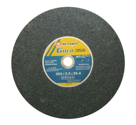 Xtra Power 14 Inch Black Chop Saw Wheels 350 x 2.8 x 25.4 mm ( abr_cut_csw_043 )
