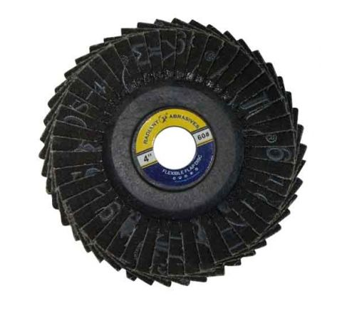 Radiant 4 inch Flexible Flap Disc - Box Of 200 ( abr_fla_fds_007 )