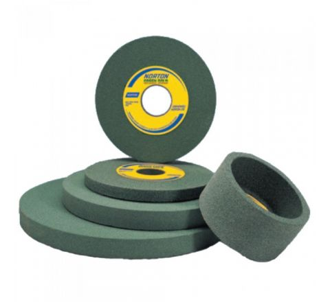 Norton 8 Inch Carbide Grinding Green Wheel 200 x 25 x 31.75 mm, 39G 60 L5 VG, V545 ( abr_gri_cyp_015 )