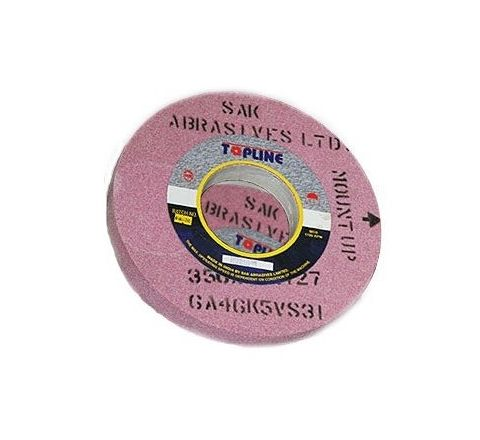 Topline 12 Inch Medium Thread And Gear Grinding Wheel 300 x 25 x 31.75 mm, OH27 ( abr_gri_sgw_039 )