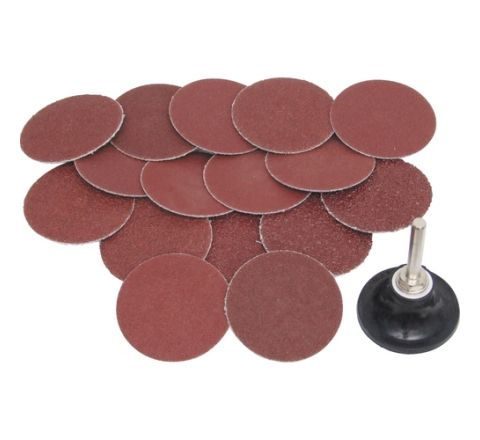 York 50mm Q/C AL/OX ABRASIVE DISC KIT 17PCE, YRK2059500K ( abr_san_sds_013 )