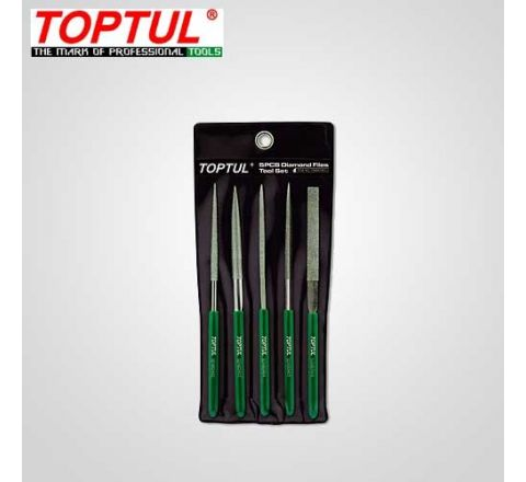 Toptul 5PCS Diamond Needle File Set-GBAN0501 HT_FL_031