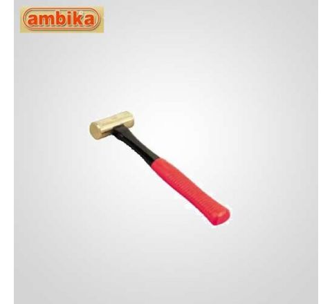 Ambika 1500 Gms Brass Hammer With Fiberglass Handle-AO-H405 HT_HNST_017