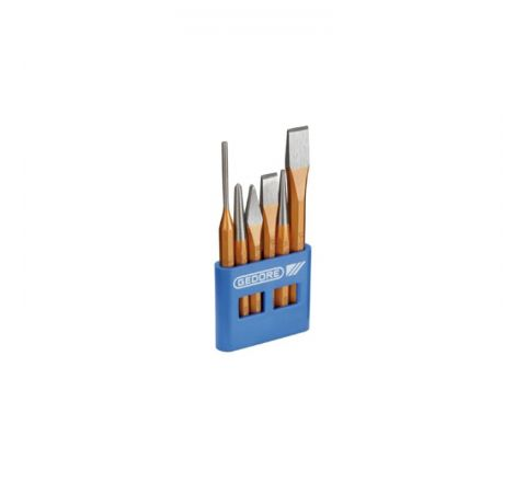 Gedore Chisel and Punch Set 6 pcs in Plastic Holder-8725200 HT_HTK_249