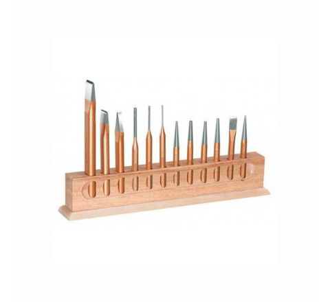 Gedore Chisel and Punch Set 12 pieces-8726440 HT_HTK_262