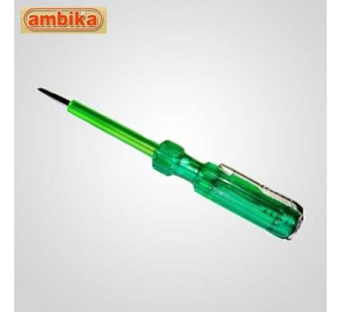 Ambika 125 mm Screw Driver Tester With Neon Bulb-AO-SD-1161 HT_LT_001