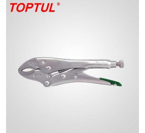 Toptul 10 quot Curved Jaw Locking Pliers with Wire Cutter -DAAQ2B10 HT_PNC_027
