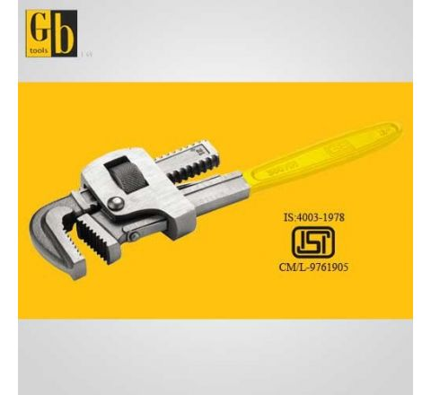 Gb Tools 14/350 mm Stillson Type Carbon Steel Painted Pipe Wrench-GB-2203 HT_WRN_578