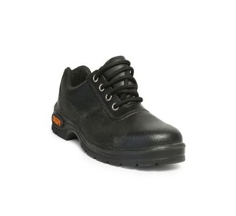 Tiger Lorex 11 No. Black Steel Toe Safety shoes