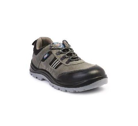 Allen Cooper AC-1156 7 No. Black and Brown Steel Toe Safety Shoes