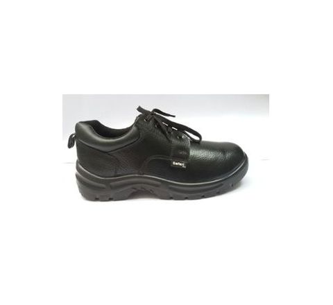 Safari Pro A666 7 No. Black Steel Toe Safety shoes