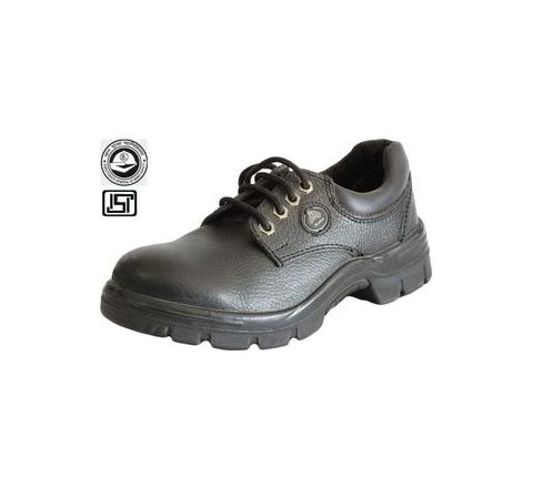 Bata Endura Low Cut 10 No. Black, Brown Steel Toe Safety Shoes