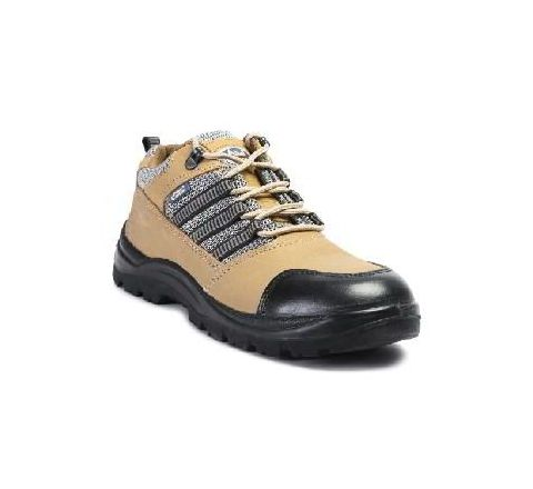 Allen Cooper AC 9005 7 No. Brown Steel Toe Safety Shoes