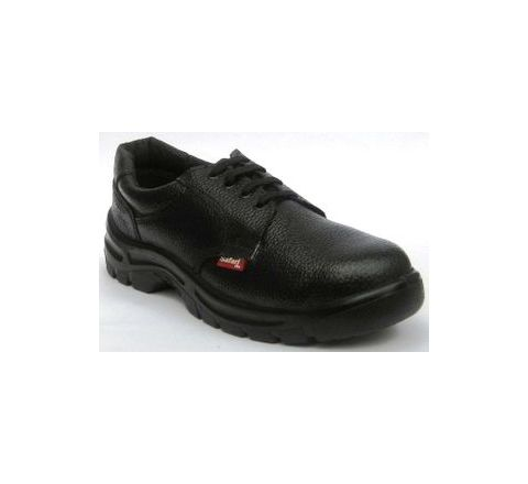 Safari Pro A-522 10 No. Black Steel Toe Safety Shoes