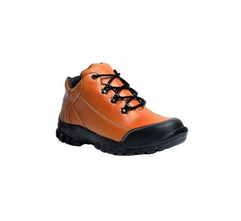 Wonker SR-504 10.0 No. Tan Colour Steel Toe Boots