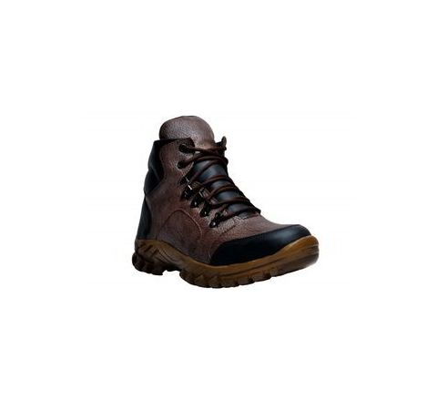 Wonker SR-503 7.0 No. Brown Colour Steel Toe Boots
