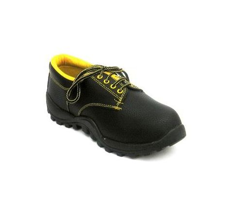 Safari Pro Rock 10 No. Black Steel Toe Safety Shoes