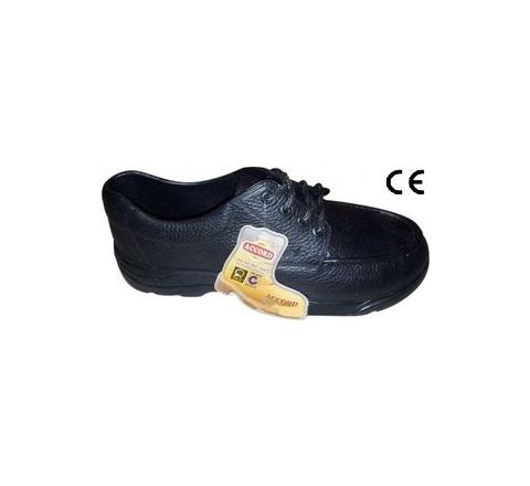 Safari Pro Accord with Steel Toe 8 No. Black Steel Toe Safety shoes