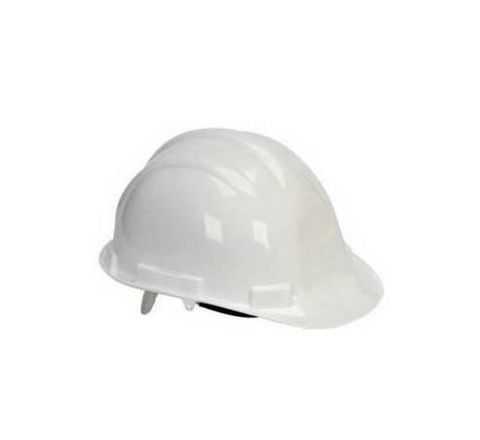 Heapro White Ratchet Type Safety Helmet HSD-001