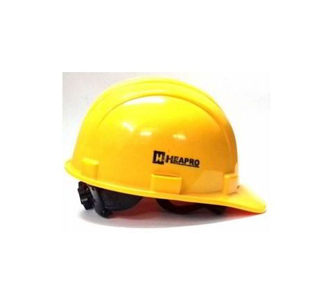 Heapro Yellow Ratchet Type Safety Helmet HSD-001