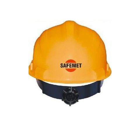 Metro White Ratchet Safety Helmet SH-1201
