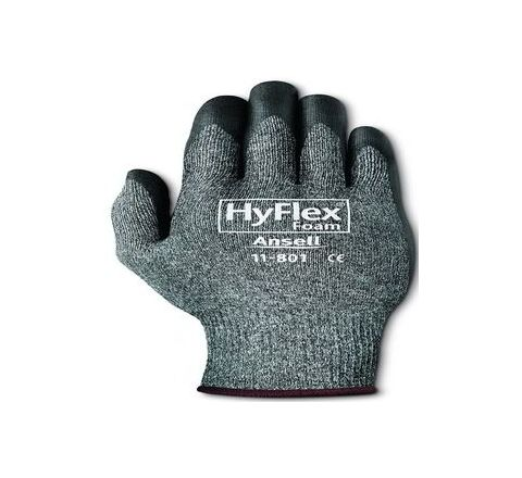 Ansell Chemical Resistant Gloves 11 Pack of 144 Pair HyFlex 11-801