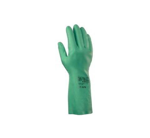 Ansell Chemical Resistant Gloves 11 Pack of 144 Pair Solvex 37-676
