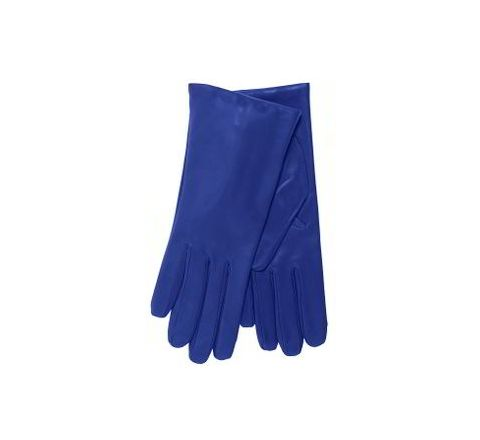 Alamdar Leather Gloves-Blue, 14 Inch Pack of 10 Pair AE 306