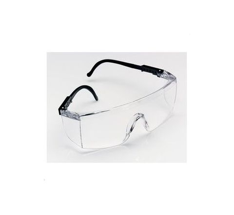 3M 1709IN+ Anti-Scratch Clear Safety Glasses Pack of 10