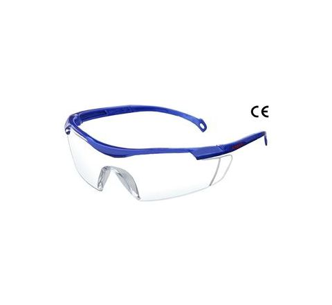 Karam ES015(Clear) Scratch-Resistant Safety Goggles Pack of 2
