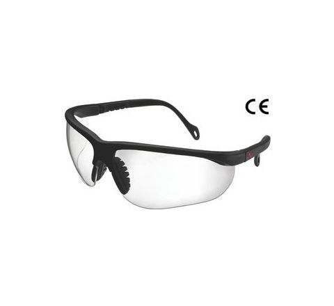 Karam ES005(Clear) Scratch-Resistant Safety Goggles Pack of 4