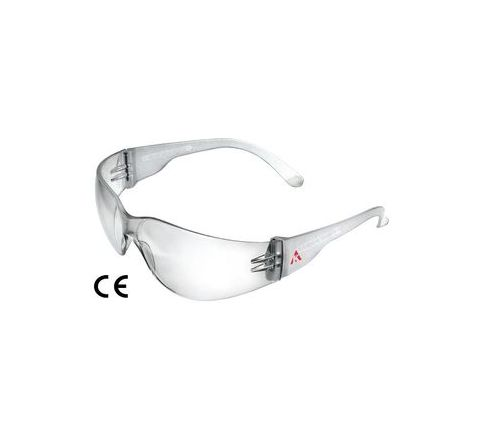 Karam ES - 001 Scratch-Resistant Clear Safety Goggles Pack of 10