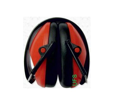 UFS EP 138 Foldable Earmuff - 34 dB NRR (Red)