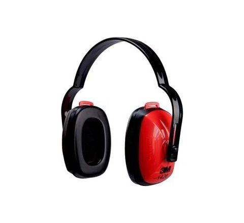3M 1426 21 dB Red and Black Earmuff