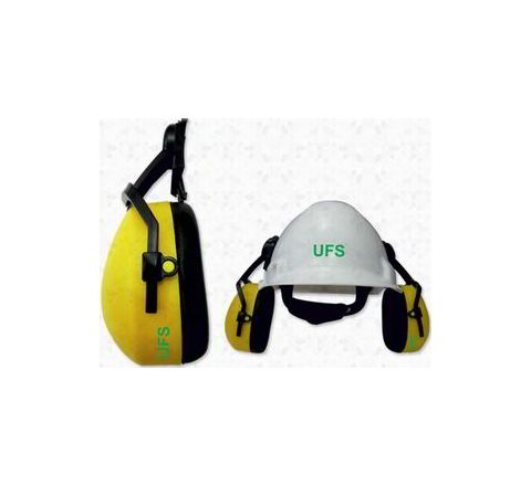 UFS EP 187 Helmet Attachable Earmuff - 30 dB NRR (Yellow)