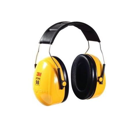 3M H9A 25 dB Yellow and Black? Earmuff