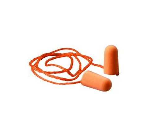 3M 1110 29 dB Corded Ear Plugs Pack of 100