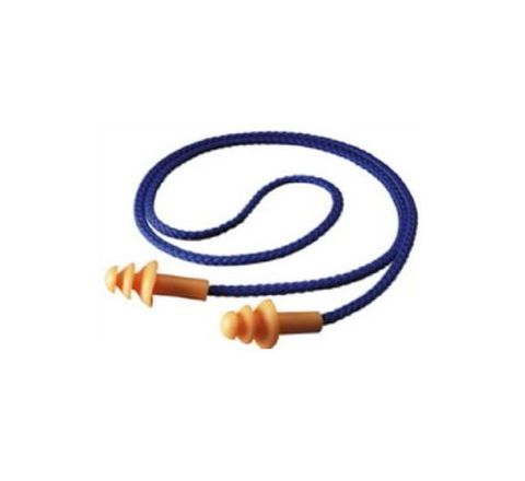 3M 1270 25 dB Corded Ear Plugs Pack of 20