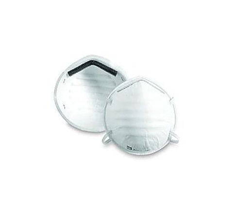 Sperian by Honeywell H801 NIOSH N95 Cup Mask-Fabric Headband