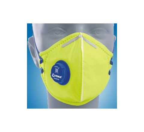 Venus V-410 V Yellow Respirator Mask