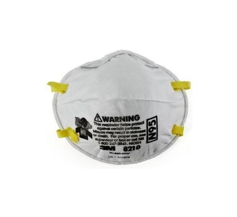 3M 8210 White Disposable Particulate Respirator