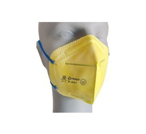 Venus V-44+ Yellow Respirator Mask