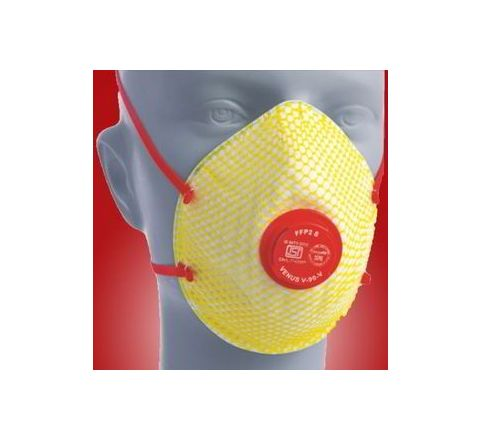 Venus V-90 V Yellow Respirator Mask