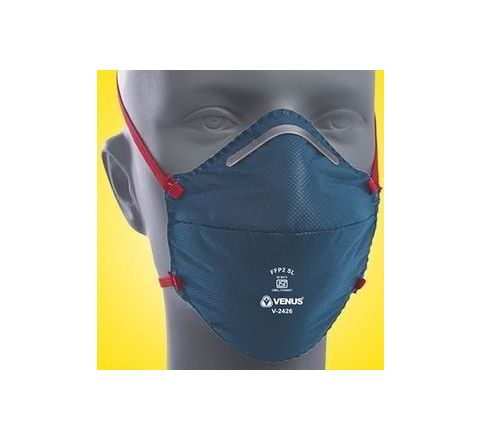 Venus V-2426 Dark Blue Respirator Mask