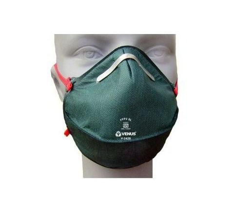 Venus V-2428 Dark Green Respirator Mask